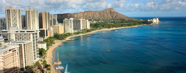 photo of waikiki and diamond head